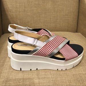 NWT GEOX Respira platform sandals